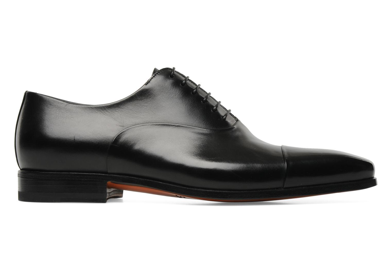 Lace-up shoes Santoni Boris 11643 Black back view