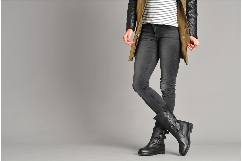 Bottines et boots KG By Kurt Geiger Trooper Noir vue bas / vue portée sac