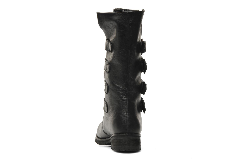 Trooper Black leather
