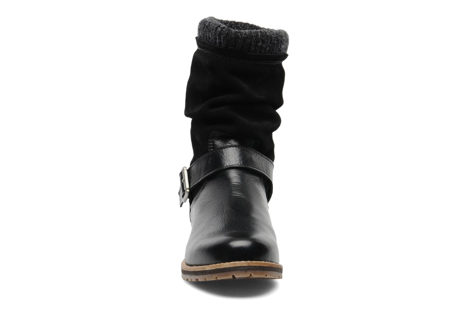 Ankle boots Le Routard Tiwen Black model view