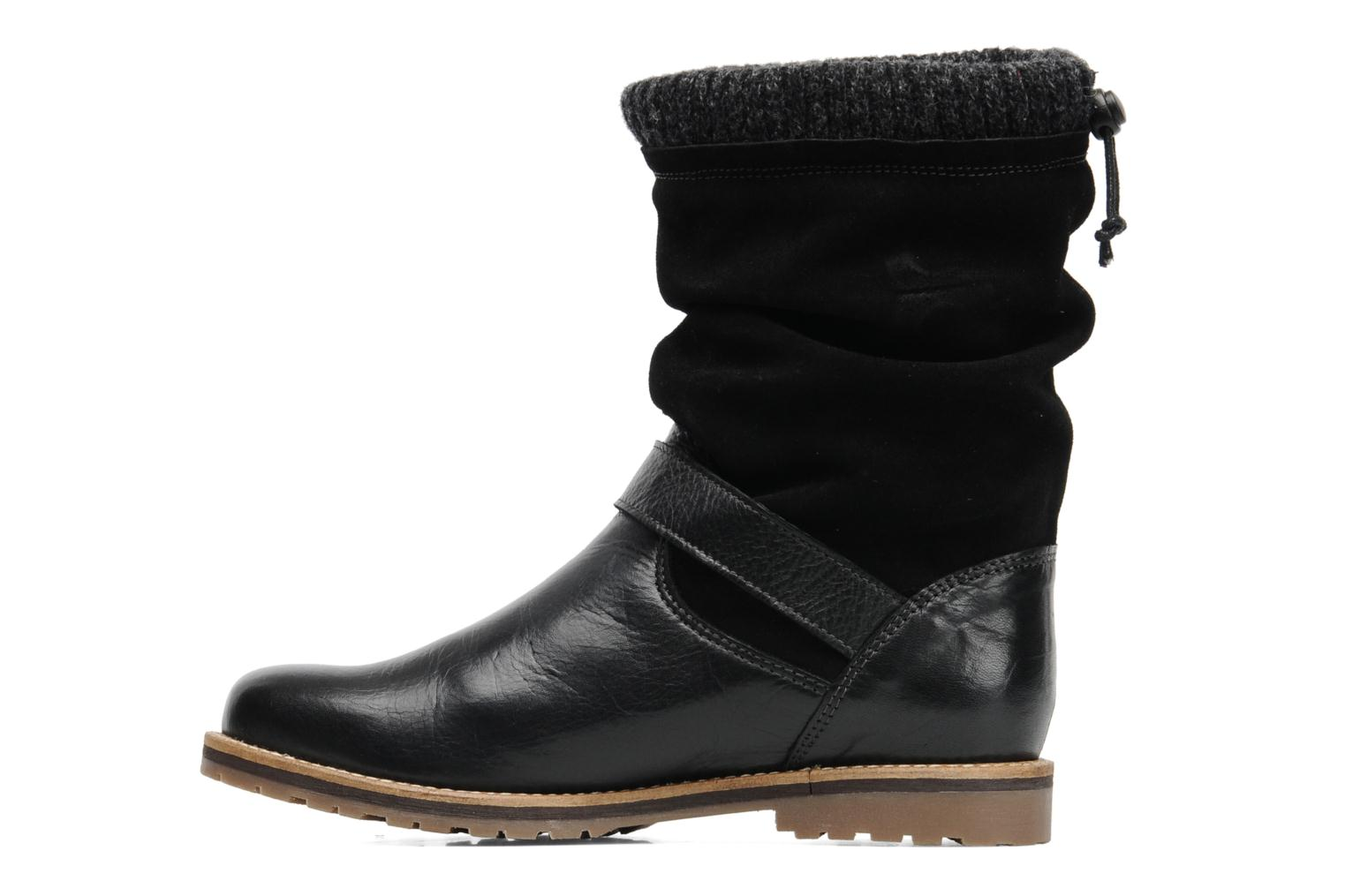 Ankle boots Le Routard Tiwen Black front view
