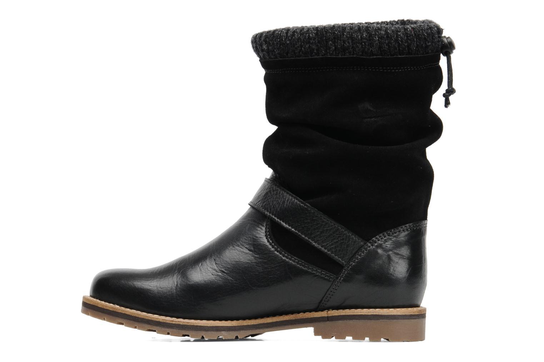 Boots en enkellaarsjes Le Routard Tiwen Zwart voorkant