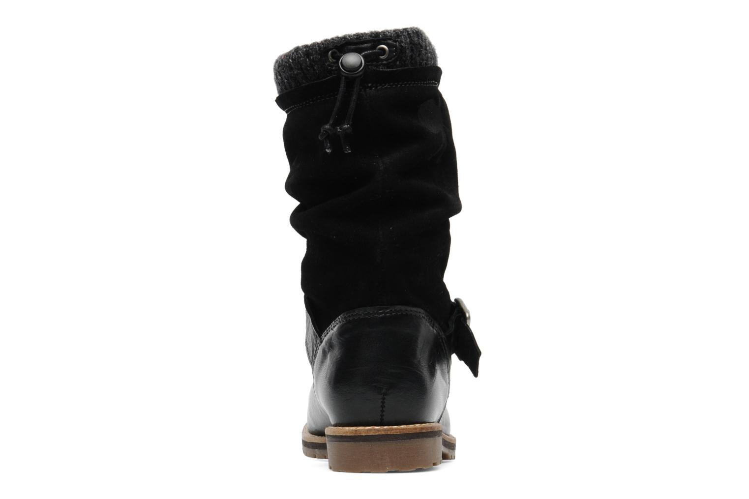 Ankle boots Le Routard Tiwen Black view from the right
