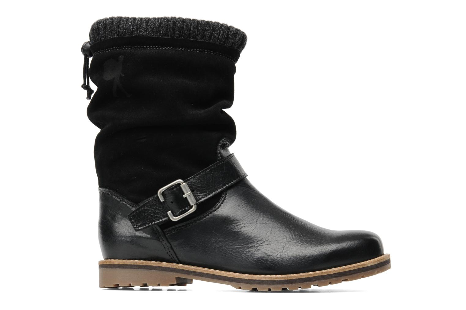 Ankle boots Le Routard Tiwen Black back view