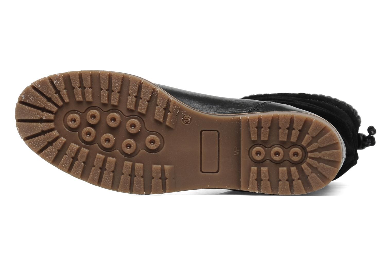 Bottines et boots Le Routard Tiwen Noir vue haut