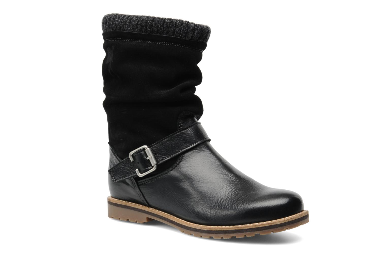 Boots en enkellaarsjes Le Routard Tiwen Zwart detail
