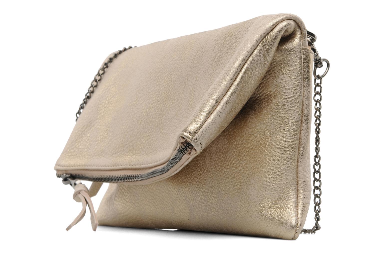 Handbags Sabrina Léonie Bronze and Gold model view