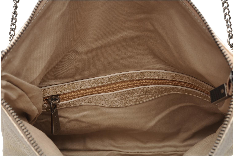 Handbags Sabrina Léonie Bronze and Gold back view
