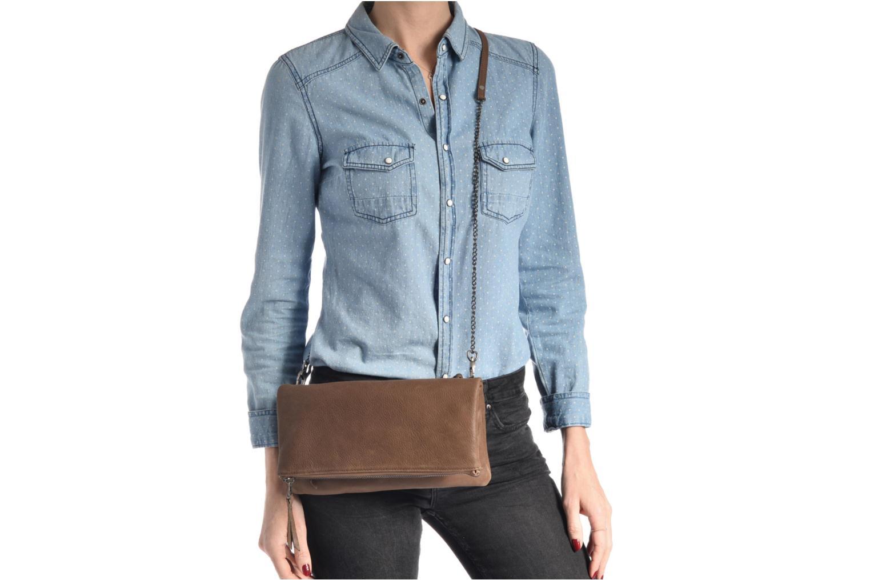 Handtaschen Sabrina Léonie gold/bronze ansicht von oben