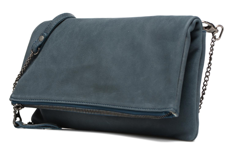 Handtaschen Sabrina Léonie blau schuhe getragen