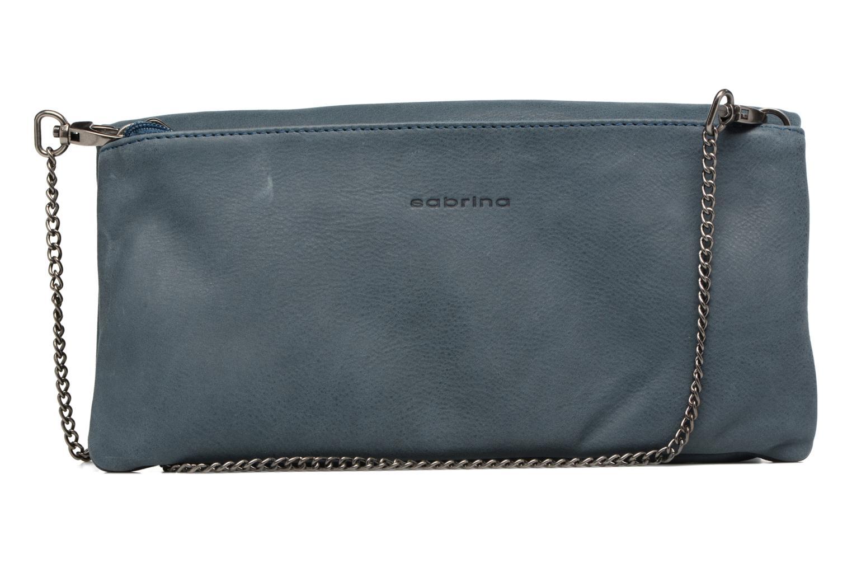 Handtaschen Sabrina Léonie blau ansicht von vorne