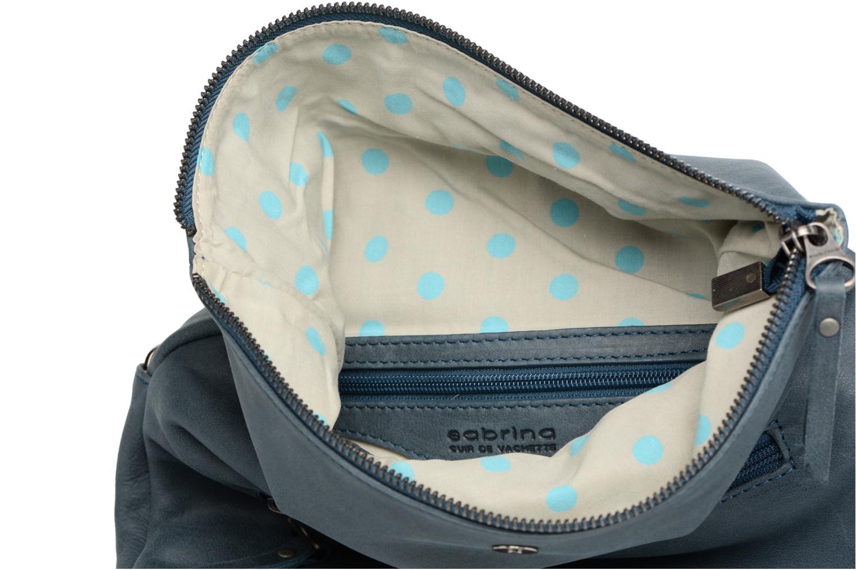 Handtaschen Sabrina Léonie blau ansicht von hinten