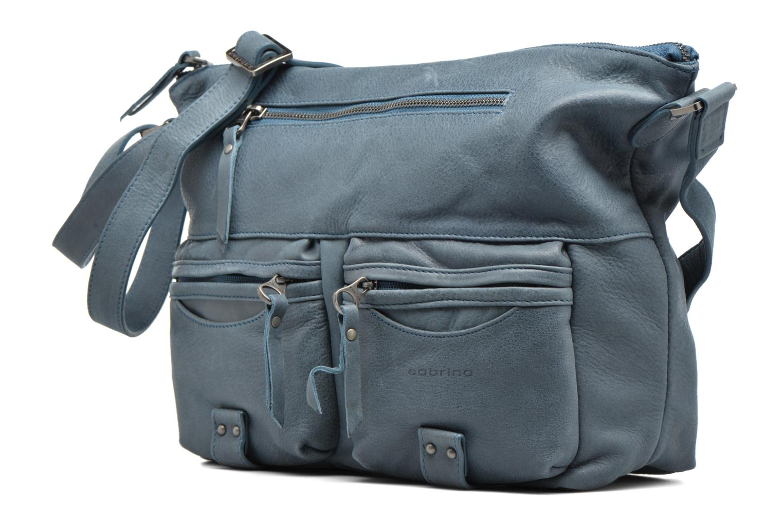 Handtaschen Sabrina Jeanne blau schuhe getragen