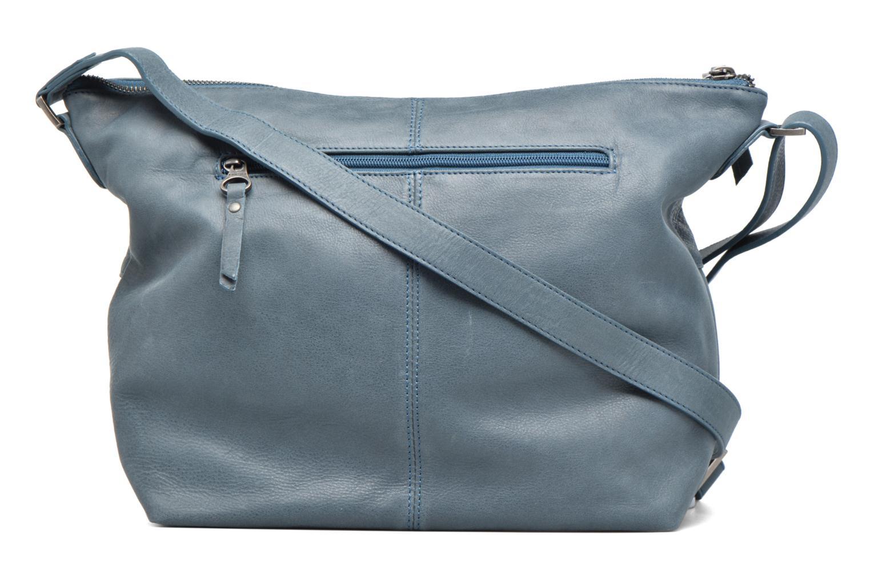 Handtaschen Sabrina Jeanne blau ansicht von vorne