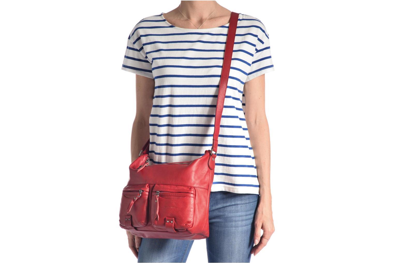Handtaschen Sabrina Jeanne blau ansicht von oben