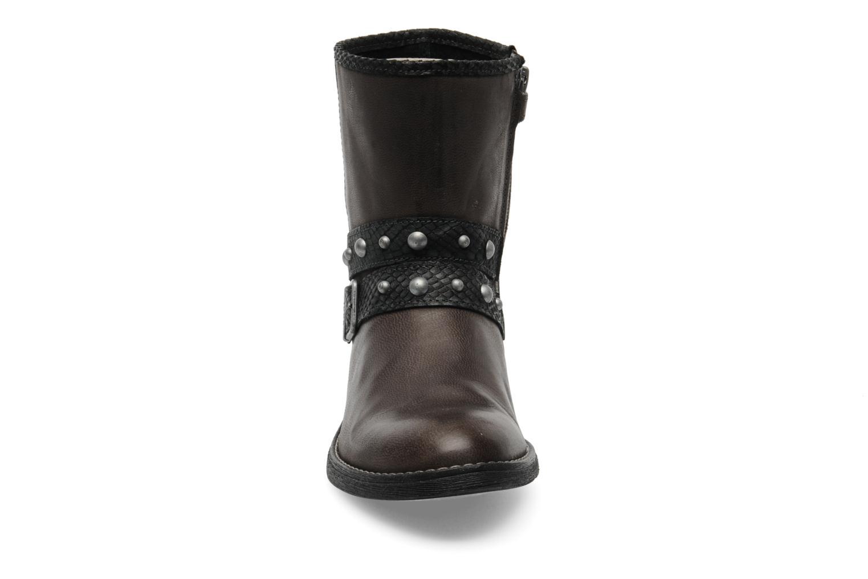 Bottines et boots IKKS Clodines Gris vue portées chaussures