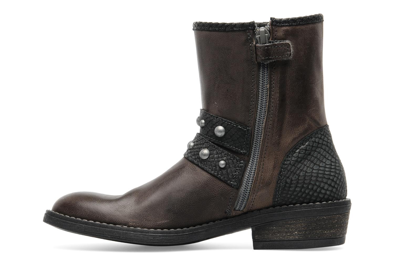 Stiefeletten & Boots Ikks Clodines grau ansicht von vorne