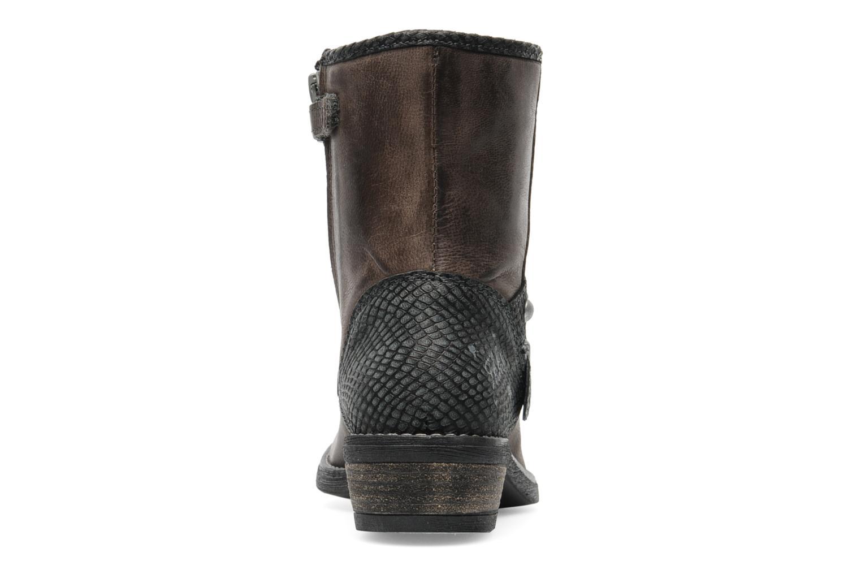 Bottines et boots IKKS Clodines Gris vue droite