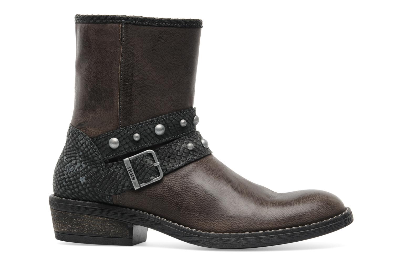 Bottines et boots IKKS Clodines Gris vue derrière