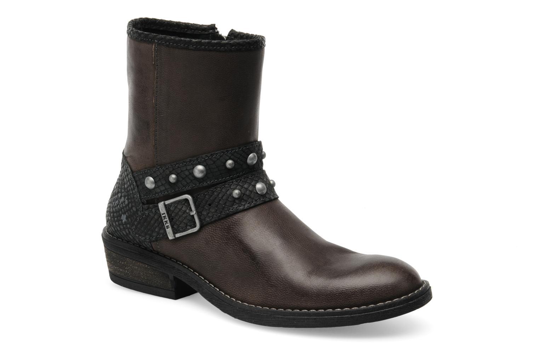 Bottines et boots IKKS Clodines Gris vue détail/paire