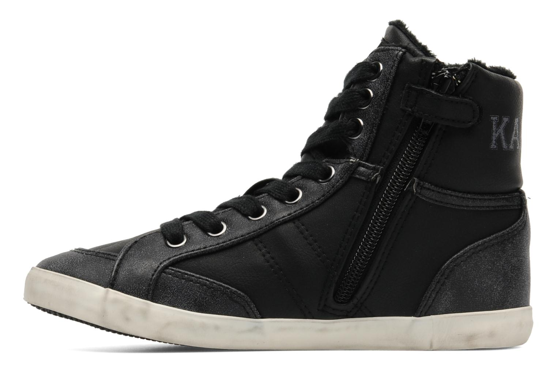 Sneakers Kaporal Stello Zwart voorkant
