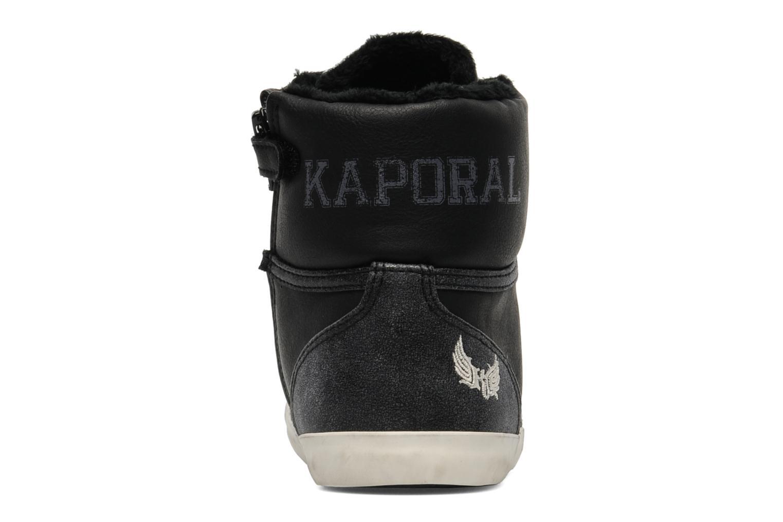 Sneakers Kaporal Stello Zwart rechts