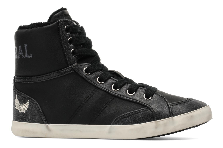 Sneakers Kaporal Stello Zwart achterkant