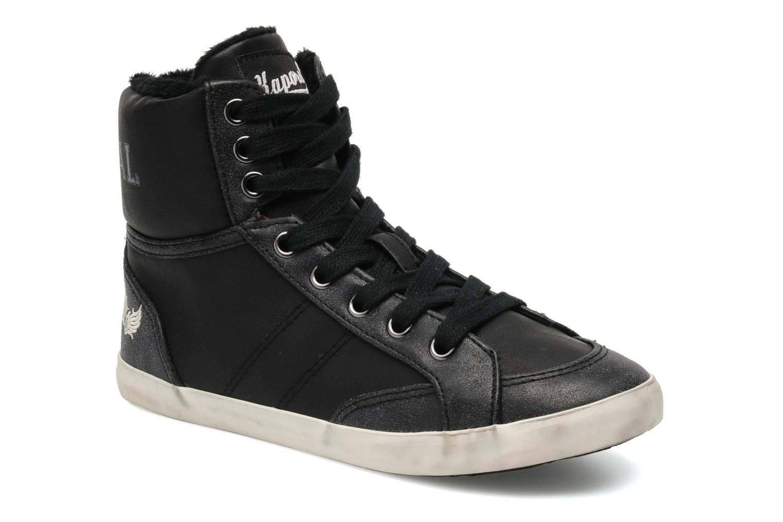 Sneakers Kaporal Stello Zwart detail