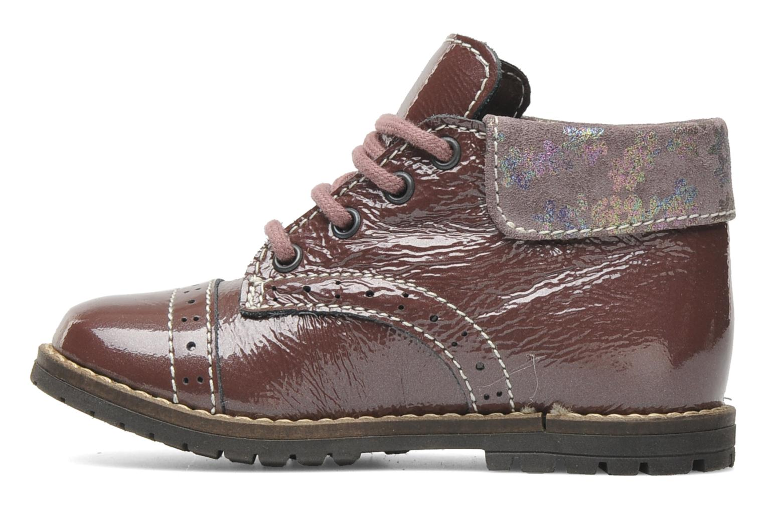 Ankle boots Little Mary Olga Purple front view