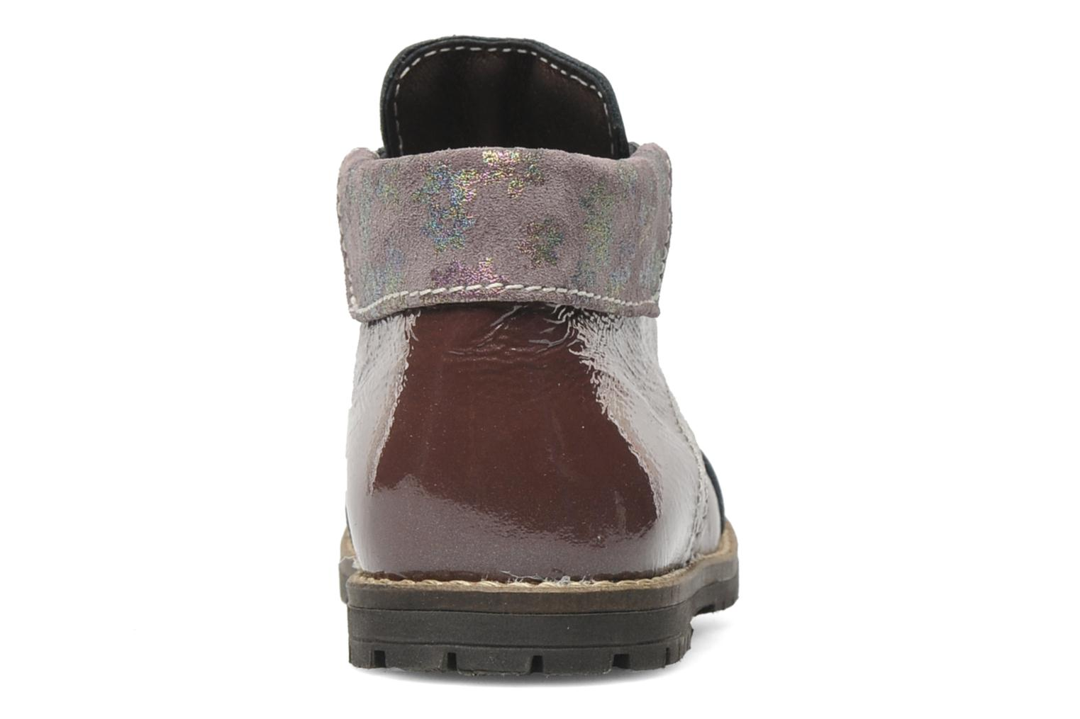 Ankle boots Little Mary Olga Purple view from the right