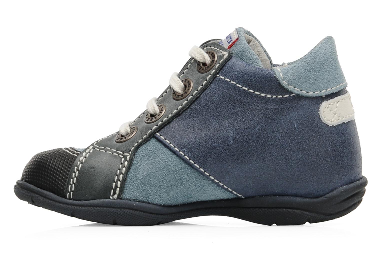 Sneaker Little Mary Opas blau ansicht von vorne