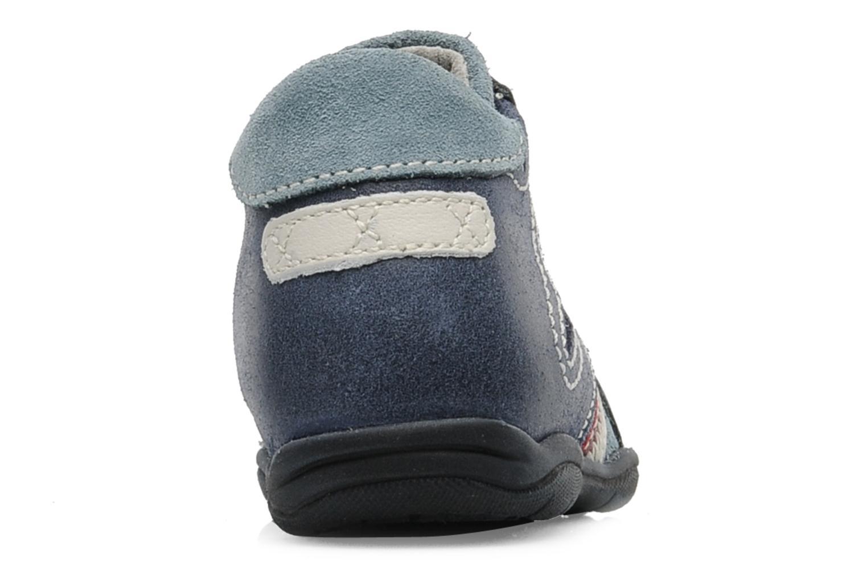 Sneaker Little Mary Opas blau ansicht von rechts