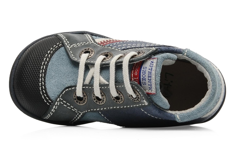 Sneaker Little Mary Opas blau ansicht von links