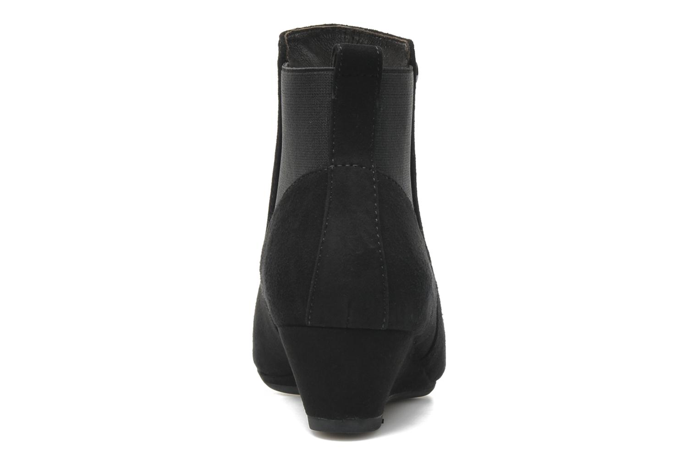 Bottines et boots JB MARTIN Galway Noir vue droite