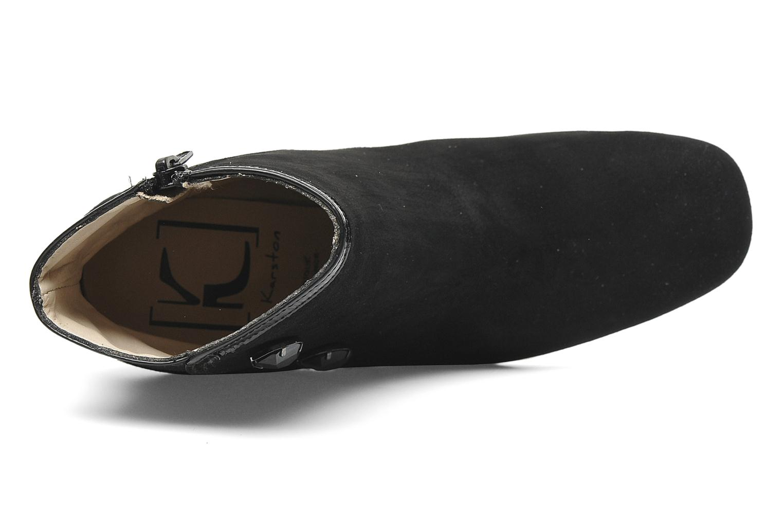 Bottines et boots K by Karston Nelson Noir vue gauche