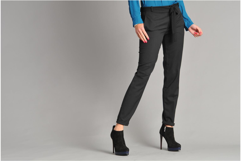 Stiefeletten & Boots Vicini Vinot schwarz ansicht von unten / tasche getragen