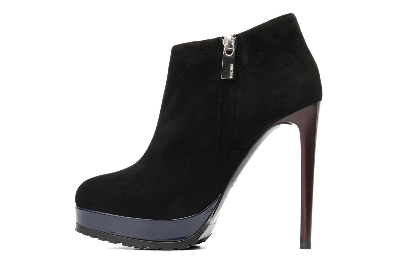 Bottines et boots Vicini Vinot Noir vue face
