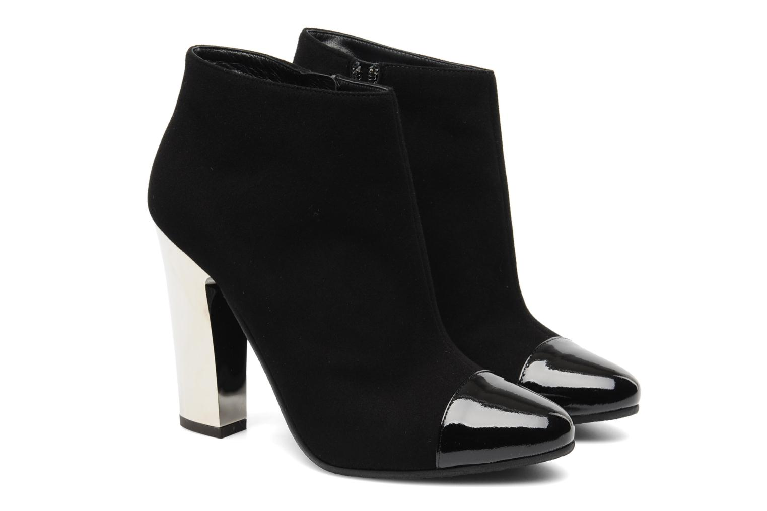 Ankle boots Vicini Valba Black 3/4 view