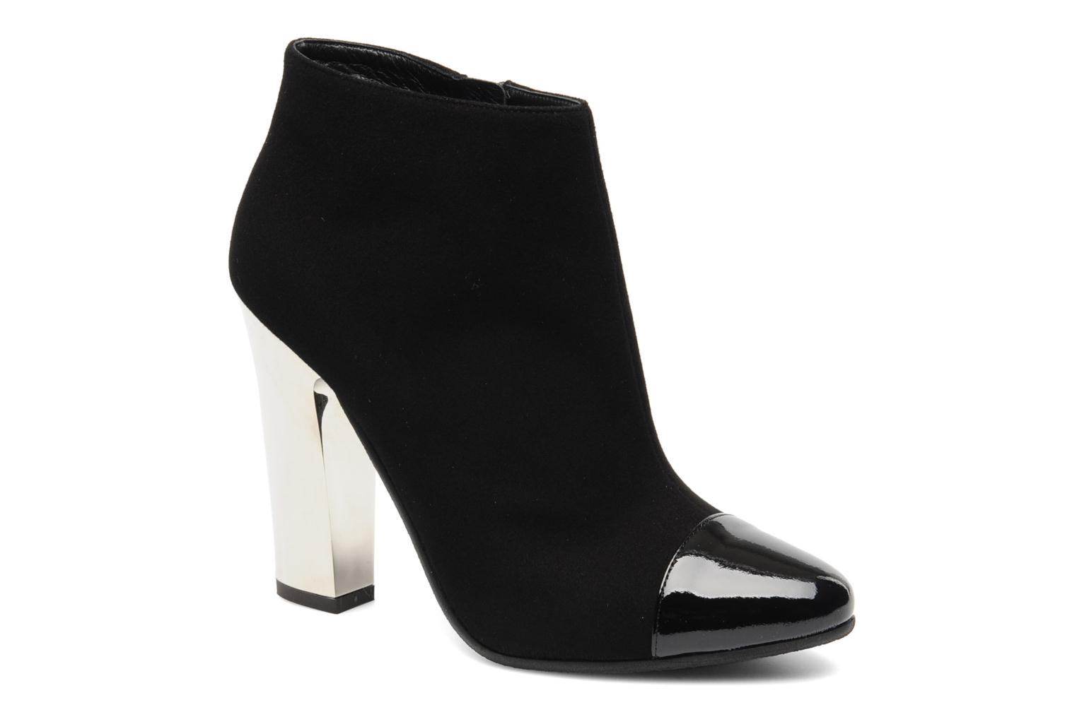 Ankle boots Vicini Valba Black detailed view/ Pair view