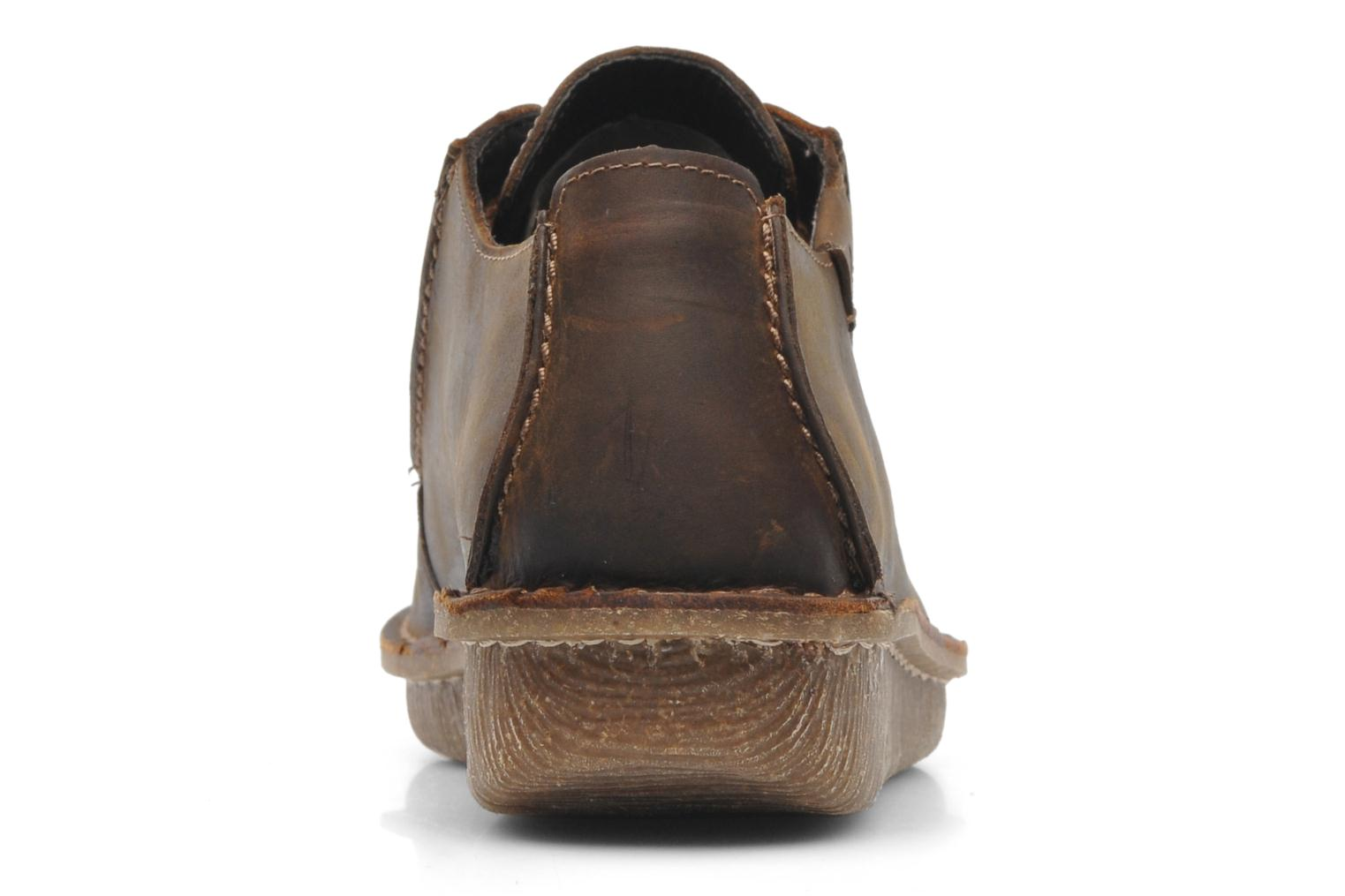 Lace-up shoes Clarks Funny Dream Brown view from the right