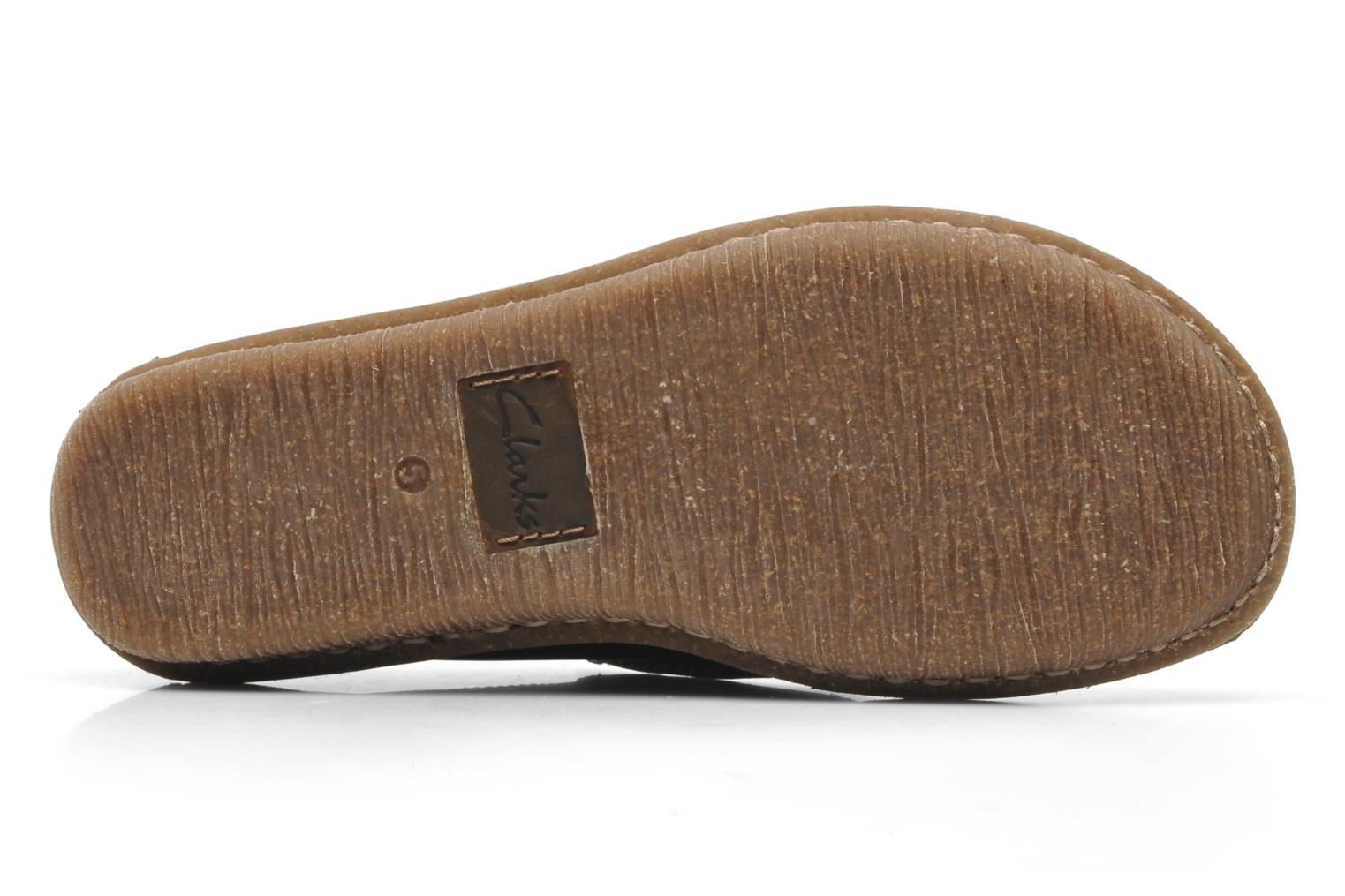 Lace-up shoes Clarks Funny Dream Brown view from above