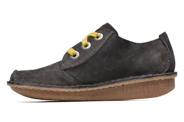 Chaussures à lacets Clarks Funny Dream Gris vue face