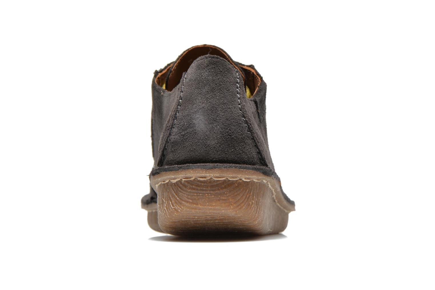 Lace-up shoes Clarks Funny Dream Grey view from the right
