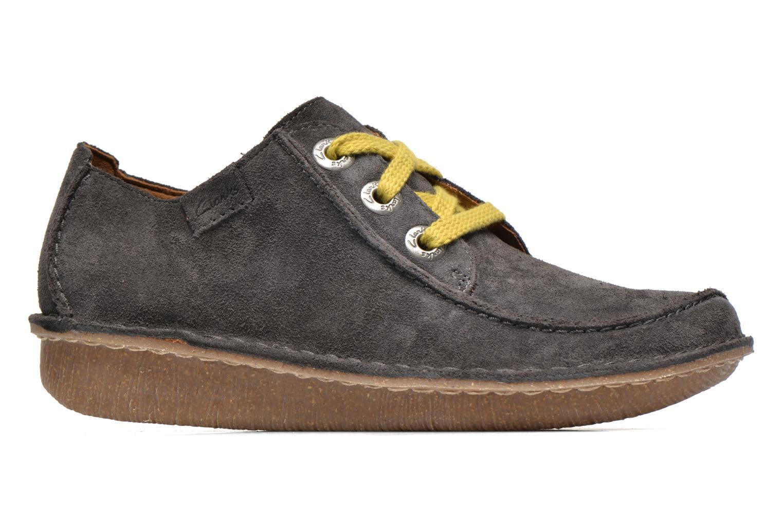 Chaussures à lacets Clarks Funny Dream Gris vue derrière