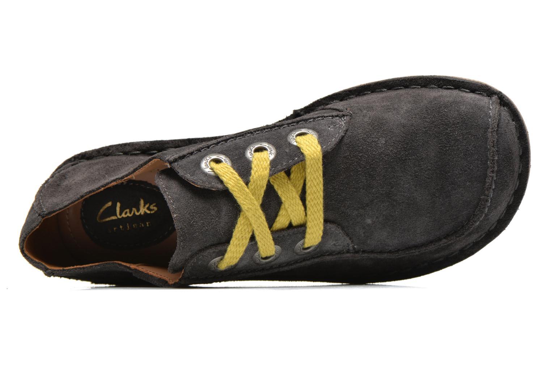 Snörade skor Clarks Funny Dream Grå bild från vänster sidan