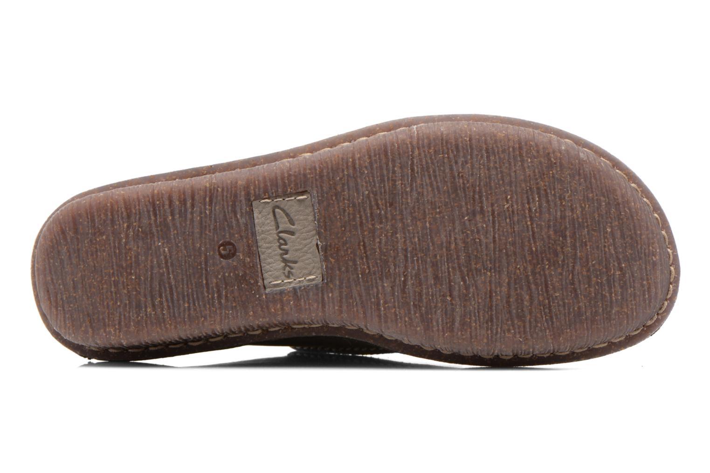 Zapatos con cordones Clarks Funny Dream Gris vista de arriba