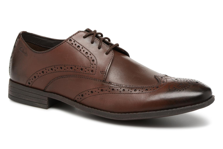 Clarks Chart Limit (Marron) - Chaussures à lacets chez Sarenza (325466)