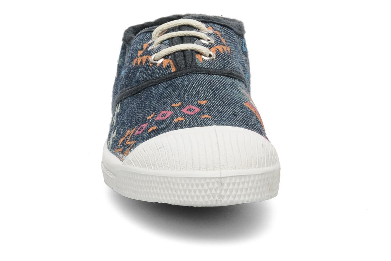 Sneakers Bensimon Tennis Ethnique E Blå se skoene på