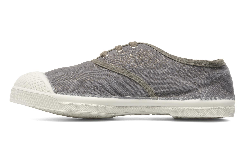 Sneaker Bensimon Tennis Glossy E grau ansicht von vorne