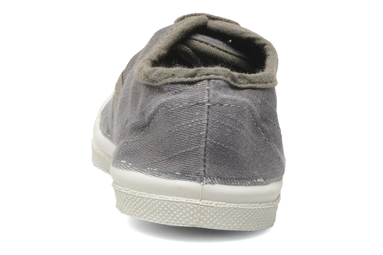 Sneaker Bensimon Tennis Glossy E grau ansicht von rechts